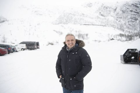 Gründerånden til Freddy Furenes gjorde at han gikk løs på et mye større hytteprosjekt i Eikedalen enn han først så for seg.