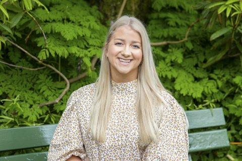 Studentleder ved Universitetet i Bergen, Sandra Krumsvik, er overlykkelig etter at tiltakene lettes på for studenter.