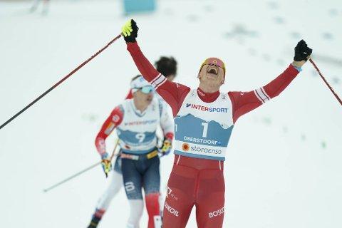 Aleksandr Bolsjunov sikret VM-gull foran fem nordmenn.