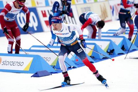 Sjur Røthe klarte ikke forsvare VM-gullet på 30 kilometer.