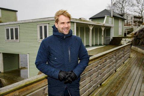 Byrådsleder Roger Valhammer (Ap) er glad for at Ado Arena vil overta driften av Sandviken Sjøbad.