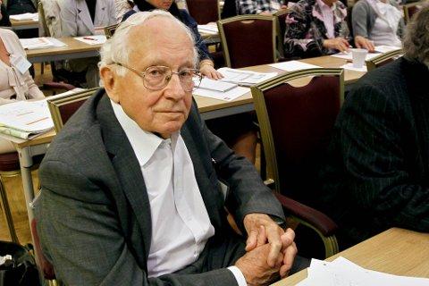 Per Kleppe avfotografert i 2010 da han deltok på en internasjonal forskerkonferanse om seniorpolitikk i arbeidslivet.