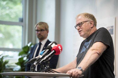 Trond Egil Hansen og Roger Valhammer strammer ikke til foreløpig.