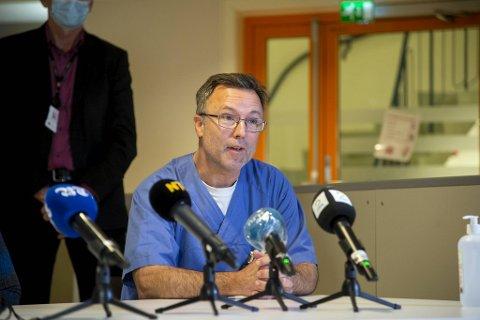 Enhetsleder Birger Lærum forsto ikke hva som fikk politikerne til å henge seg opp i spørsmål om seksuell trakassering.