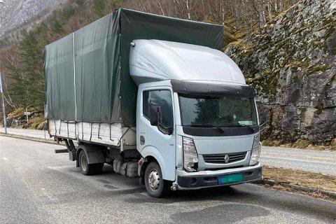 Denne bilen har Statens vegvesen stanset med overlast to ganger på kort tid.