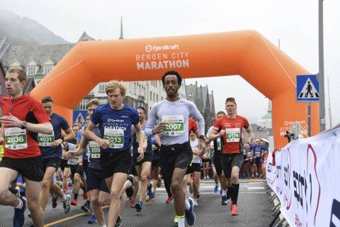 Bergen City Marathon er utsatt til august.