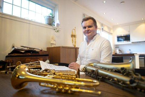 I løpet av det siste året har Hans Marius Andersen fått et nytt instrument i paletten.