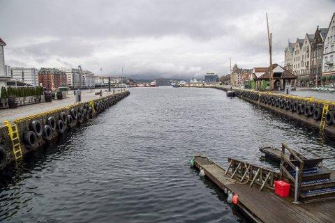 Dersom Bergen Havn får det som de vil, blir det lite båtliv i Vågen i påsken.