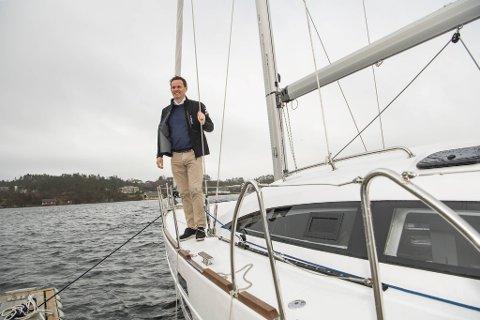 Daglig leder Ørjan Wollertsen i Nautic Norway ser nå resultater av utvidet satsing kombinert med økt interesse i markedet.