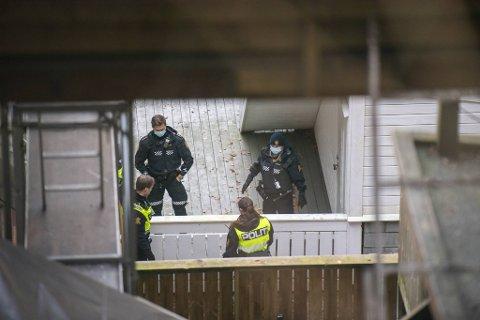 Politiet har gjort åstedsundersøkelser på stedet.