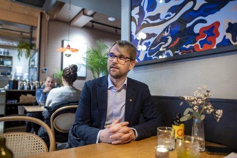 Byrådsleder Roger Valhammer (Ap).