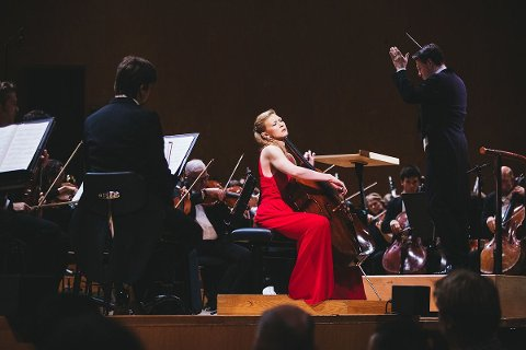 Amalie Stalheim vant Sveriges største klassiske musikkonkurranse, Solistpriset, i 2018.