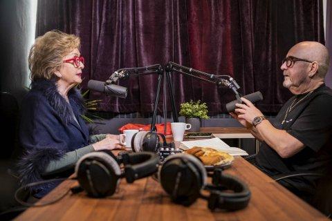 Trude Drevland og Trond Skeide Johannessen har kjent hverandre i 40 år. I desember startet de podkast.