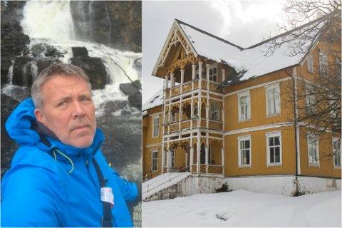 SKAKA: Helge Fossheim Andersen har mobilisert Arkitekturopprøret Norge på Facebook. Der rasar kritikken mot ei eventuell riving av Jølster hotell.