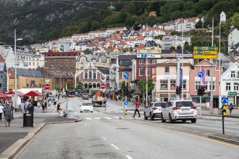 Byrådet mener de har kommet frem til en midlertidig løsning som faktisk kan gjennomføres for syklende gjennom sentrum.