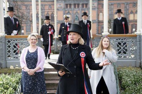 Leder for 17. mai-komiteen i Bergen, Cecilie Lycke, er begeistret for ideen om virtuell prosesjon.