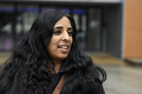 Ap-politiker Lubna Jaffrey er skuffet over landsmøtets beslutning, men tror flere vil snu etter hvert.