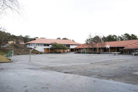 Ved Haukedalen skole er det fra onsdag rødt nivå på 4. til 7. trinn.