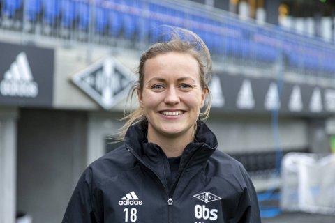 Kristine Minde må vente til 2022 før hun kan spille fotballkamper igjen.