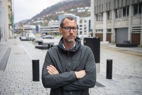 Espen Galtung Døsvig (49) var kritisk til koronatiltakene i fjor.