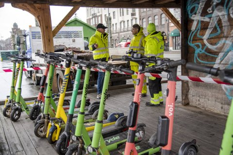 I år er det seks ulike aktører som skal konkurrere i Bergen. I fjor var det stort sett bare Ryde.