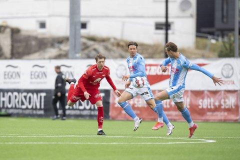 Ole Martin Kolskogen (20) og resten av Brann-forsvaret har hatt en tøff oppkjøring. Mot Sandnes Ulf ble det tre nye baklengsmål.