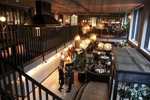 Slik så det ut i lokalene da Jamie's Italian åpnet i fjor høst. Nå er restauranten på Hotel Norge stengt, men snart er en ny italiener på plass.