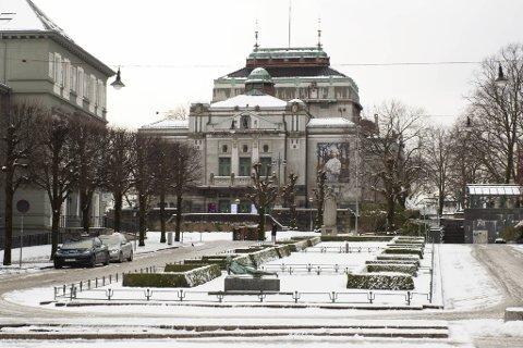 I løpet av mandag vil det komme spredte snøbyger, men i ettermiddag kommer det mer nedbør som snø og sludd.
