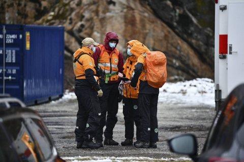 Store mannskaper hjalp til i søket etter en mann i 60-årene som ble meldt savnet i Fyllingsdalen torsdag ettermiddag.