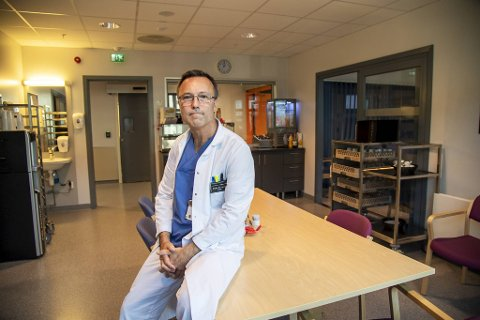 Enhetsleder Birger Norderud Lærum ved Øyeblikkelig hjelp døgnenhet (ØHD).