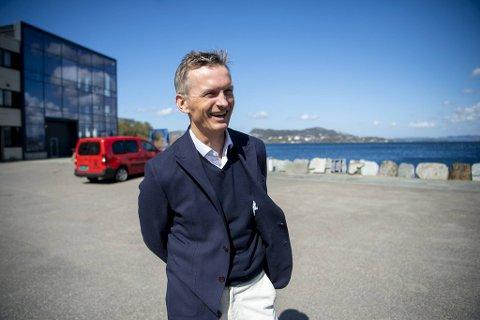 Frank Mohn stortrives som leder for den tradisjonsrike familiebedriften W. Giertsen.
