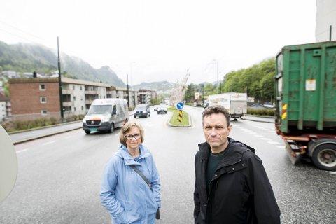 Mona Høgli og Arild Hermstad i MDG vil kunne straffe flere bilister enklere.