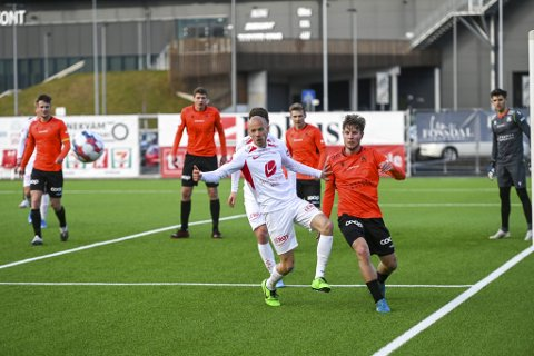 Ruben Kristiansen har spilt to gode omganger som midtstopper. I generalprøven mot Åsane får han prøve seg fra start.