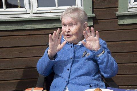 Renira Müller (99) var tilbake i leiren der ektemannen satt fanget under andre verdenskrig.
