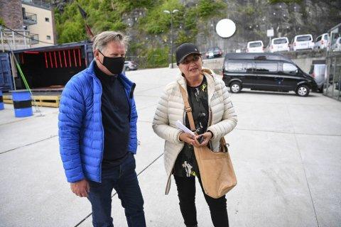 Erik Strøm og Rosmari Hauge Strøm føler seg trygge på konsert.