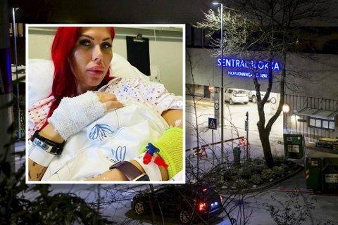 Blogger Sidney Lunde måtte legges inn på Haukeland sykehus tre ganger på en uke.