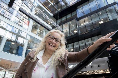 Stortingsrepresentant Ruth Grung (Ap) fikk vaksine på Akershus festning onsdag.