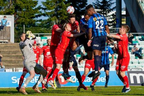 Bergenseren Yaw-Ihle Amankwah scoret 2-0 målet da Brann gikk på sitt sjette tap på rappen.