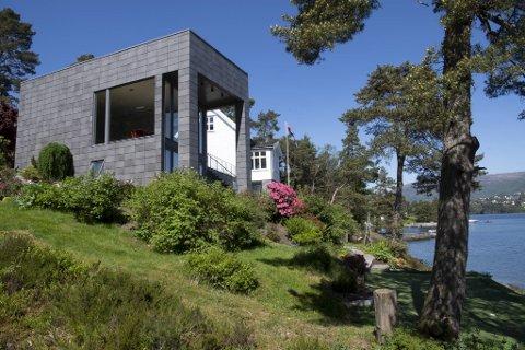 Eiendommen ved Nordåsvannet har blitt kraftig oppgradert siden forrige gang den skiftet eier i 2007.
