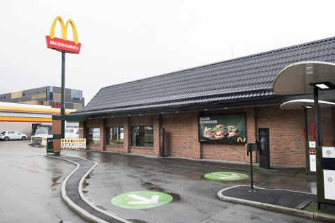 Det skal ha vært amper stemning ved McDonalds i Rådal natt til fredag. (Arkivfoto.)