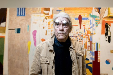 Arvid Pettersen har jobbet som kunstner i mer enn 50 år. Nå åpner han utstilling på Kode. Gjennom årene  har han variert uttrykket sitt.