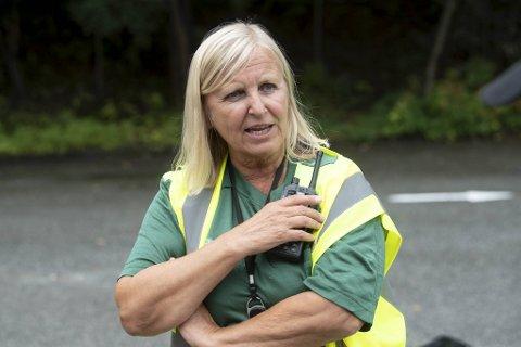 Dagrunn Linchausen er sjef for legevakten. Hun er positiv til den synkende smittetrenden Bergen er inne i.