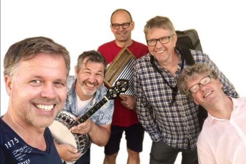 Louisiana Washboard Five består av Rolf Seledal, Ketil Sæthre, Johan Lammers, Steinar Sætre, og Arnulf Røkke.