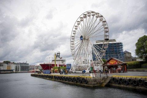 Lunds tivoli holdt åpent på Festningskaien hele fjor sommer.