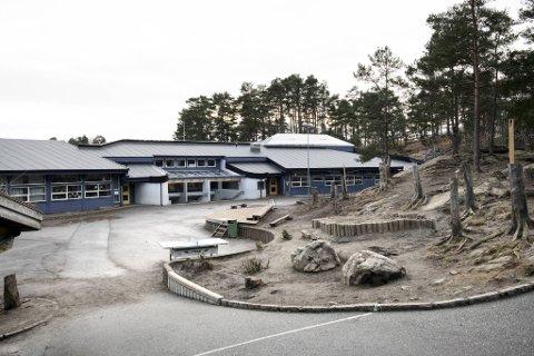 Aurdalslia skole i Ytrebygda er en av dem som kan bli stengt hvis streiken trappes opp.
