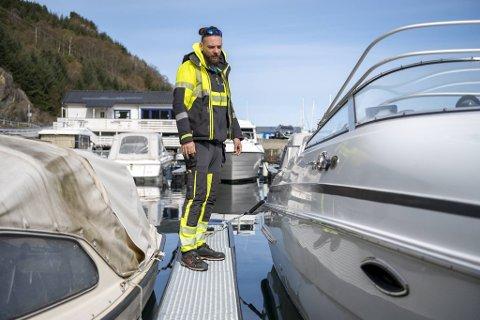 Gjensynet med båten kom med en bismak for Ståle Handal, fordi det blir kostbart.