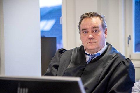 Forsvareren til den siktede sjåføren, Jørgen Riple.