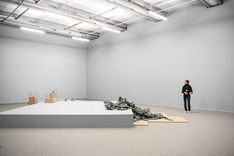 – En utstilling der du kan gå turstier, sier kunstner Marit Følstad.