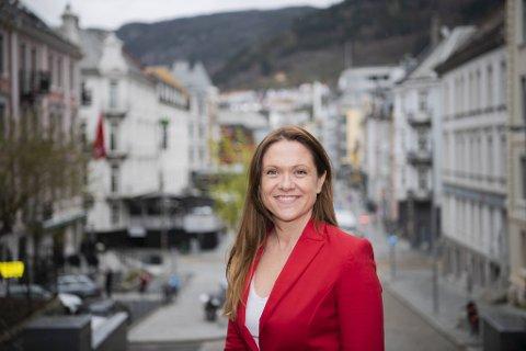– Jeg tror absolutt jeg passer i NHO. Det grønne skiftet er kommet for å bli i alle bransjer, på linje med digitaliseringsbølgen og andre megatrender, sier Helene Frihammer.