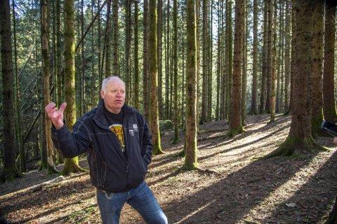 Arild Helle ble svært glad og rørt da han fikk høre at politikerne legger planene om utbygging i Tennebekk i bero.